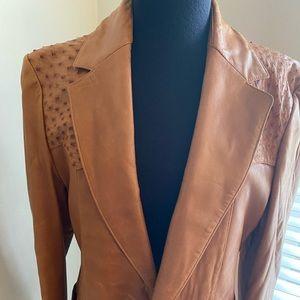 Men's Vintage Scully Leather Blazer